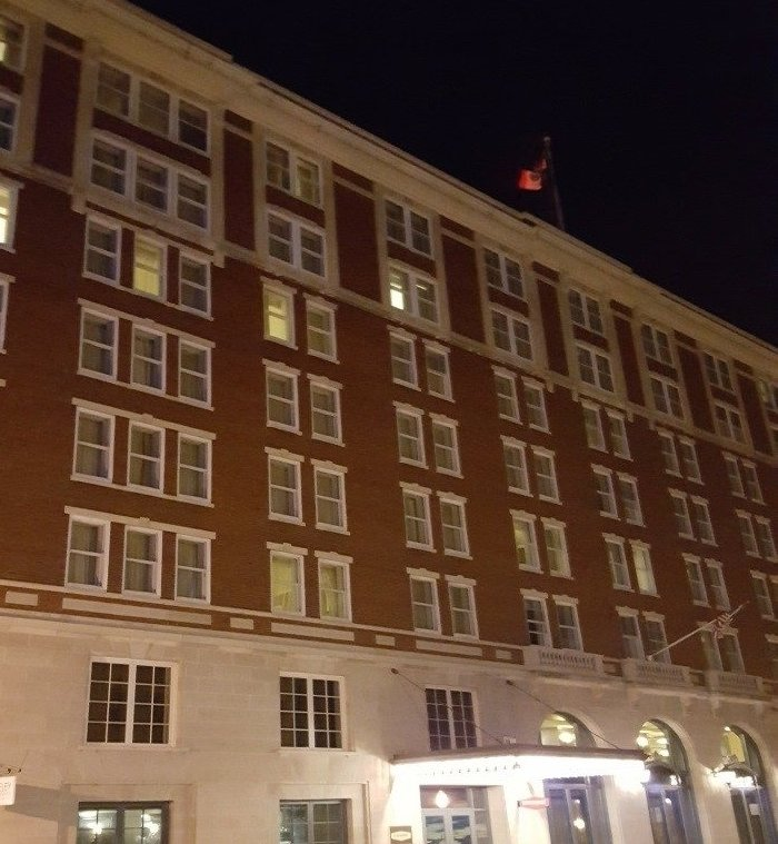 Photo by author – present day Hotel Julian